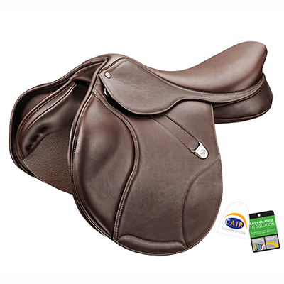Bates Elevation+ Luxe RearFB Jump Saddle