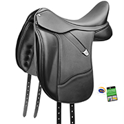 Bates Dressage+ Luxe Dressage Saddle