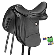 Bates WIDE Dressage+ Luxe Dressage Saddle