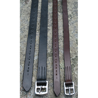 KL Select Half Hole Leathers