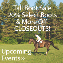 Upcoming Events: Boot Sale until July 31st!