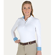 Noble Outfitters Allison Long Sleeve Pull On Show Shirt