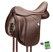 Bates+ dressage in classic brown