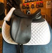 "Stubben Genesis with Biomex Seat Dressage Saddle 18"" MN (Used)"