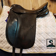 "Schumacher Profi Dressage-17.5""-Medium-Black"