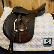 "Crosby Corinthain All Purpose Saddle-17""-Medium"