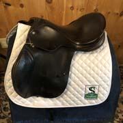 "Berney Brothers All Purpose Saddle-17.5""-Medium-Black"