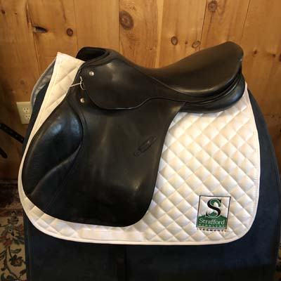 "Passier Pegasus All Purpose Saddle-17.5""-Wide-Black"