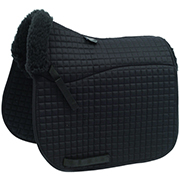 Shires Half Fleece-Lined Dressage Pad
