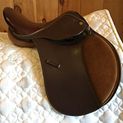 "Collegiate Kids Saddle Wide 14"" Brown (Used)"