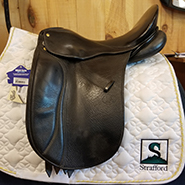 "Custom Schleese Dressage-17.5""-#3 Fit-Black"