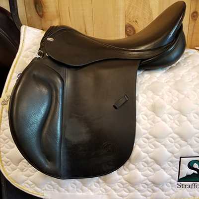 "Duett Rondo All Purpose Saddle-19""-38cm-Black"