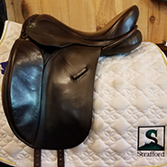 "Jessica Ideal Dressage-17""-Wide-Brown"