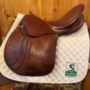 "Stubben Roxanne Saddle-19""-Wide-Brown"