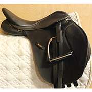 "Wintec All Purpose Saddle Adjustable 17"" Brown (Used)"