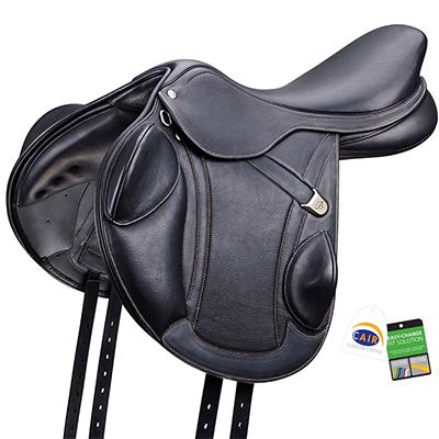 Bates® Advanta™ Monoflap Jump Saddle