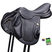 Bates® Advanta™ Monoflap Jump Saddle
