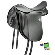 Bates® Dressage Saddle for Wide Horses