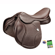 Bates® Elevation DS+ Luxe RearFB CAIR Jump Saddle