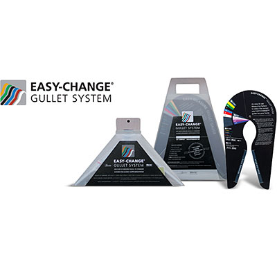 Easy-Change® Gullet System Complete Pack