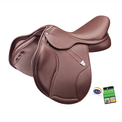 Bates Elevation DS+ RearFB CAIR Jump Saddle