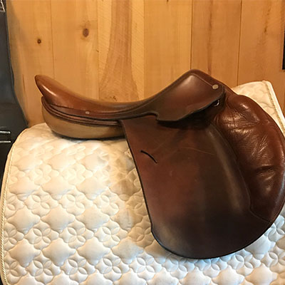 "Hermes Paris Jump - Narrow 18"" Brown"