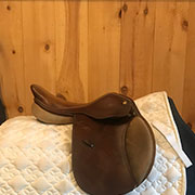 "Collegiate Ian Miller Saddle - Medium 15"" Brown"