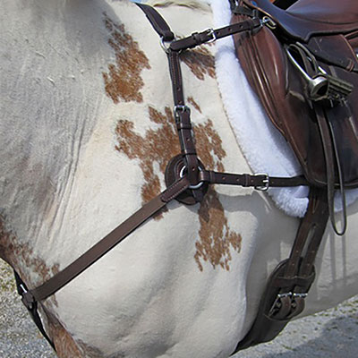 Nunn Finer Five Way Breastplate with Elastic