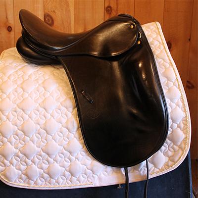 """Schleese Robert Dover Dressage-17.5""""-#3 Fit-Black"""