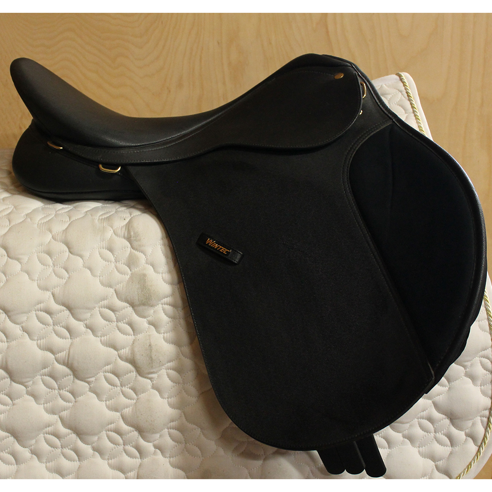 "Wintec All Purpose Saddle Adjustable 18"" Black (Used)"