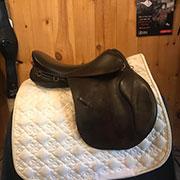 """Wychanger All Purpose Saddle - Medium 18"""" Brown"""